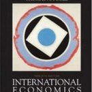 International Economics 12th by Thomas A. A. Pugel 0072487488