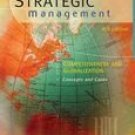 Strategic Management: Competitiveness and Globalization Cases 6th by Michael A. Hitt 0324275323