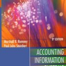 Accounting Information Systems 8th by Marshall B. Romney 0201357216