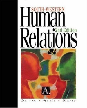 Human Relations 2nd by Dawn G Hoyle 0538722231