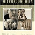 Principles of Microeconomics and Graphing 3rd by Fred M. Gottheil 0324106785