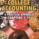 College Accounting : A Practical Approach Chapters 1-15 8th by Jeff Slater 0130911305