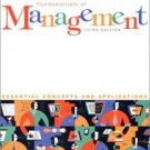 Fundamentals of Management : Essential Concepts and Applications 3rd by Decenzo 013017601X