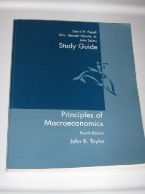 ECONOMICS, 4 EDITION MACRO STUDY GUIDE 4th by John Taylor 061823005X