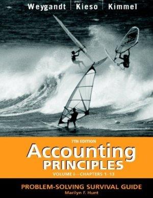 Accounting Principles Vol. 1 Chap. 1-13 by Donald E. Kieso 0471477303