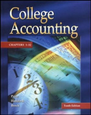 Update Edition of College Accounting Chapters 1-32 10th by Horace R. Brock 0072977906