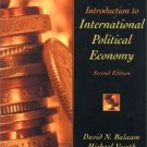 Introduction to International Political Economy 2nd by David N. Balaam 0130183490