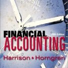 Financial Accounting 5th by Charles T. Horngren 0131201948
