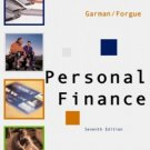 Personal Finance 7th Edition by E. Thomas Garman 0618214178