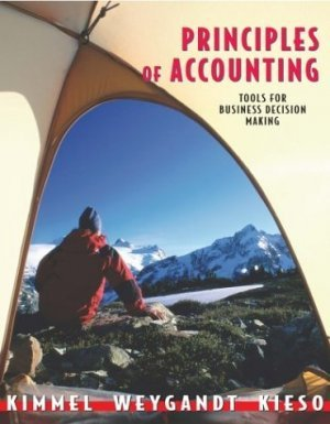 Principles of Accounting by Donald E. Kieso 0471401331