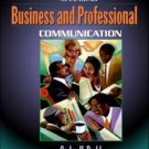 Managing Business and Professional Communication by Carley H. Dodd 0205335268