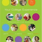 Your College Experience Strategies for Success 7th by A. Jerome Jewler 1413030165