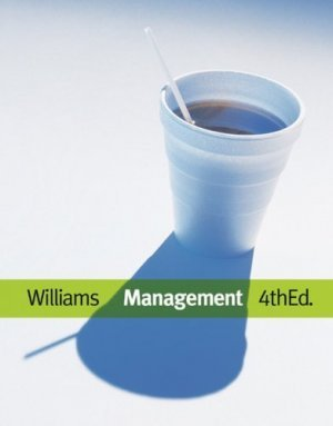 Management 4th Ed. by Chuck Williams 0324316798