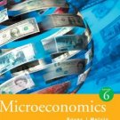 Microeconomics 6th by Michael Melvin 0618372539