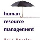 Human Resource Management 10th by Gary Dessler 0131440977