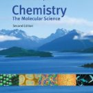 Chemistry The Molecular Science 2nd Edition Moore, John W. 0534422012
