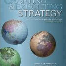 Crafting and Executing Strategy / Edition 16 by Arthur A. Thompson 0073381241