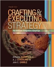 Crafting and Executing Strategy / Edition 15 by Arthur A. Thompson 0073269808