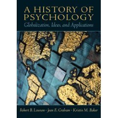 A History of Psychology by Jean E. Graham 0130141232