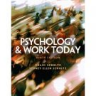 Psychology and Work Today 9th by Duane Schultz 0131932128