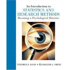An Introduction To Statistics And Research Methods by Stephen F. Davis 0131505114