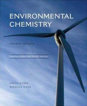 Environmental Chemistry 4th by Colin Baird 1429201460