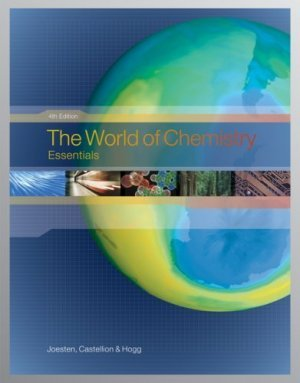The World of Chemistry Essentials 4th edition by Melvin D. Joesten 0495012130