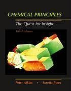 Chemical Principles The Quest for Insight 3rd edition by Peter Atkins 071675701X