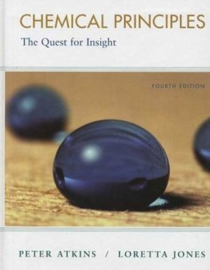 Chemical Principles The Quest for Insight 4th edition by Peter Atkins 1429209658