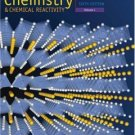Chemistry and Chemical Reactivity Volume I 6th edition by John C. Kotz 0495010138