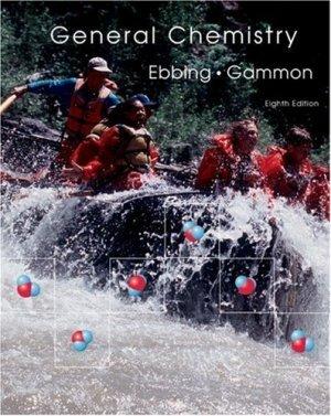 General Chemistry 8th edition by Darrell Ebbing 0618447962