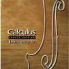Calculus 4th edition by Stewart 0534359493