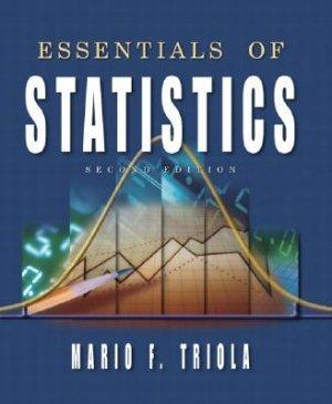 Essentials of Statistics - 2nd Edition Triola 0201771292