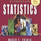 Elementary Statistics Update - 9th Edition Triola 0321288394