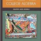 College Algebra: Graphs and Models 2nd Ed. by BARNETT 0072424281