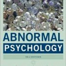 Abnormal Psychology 10th by Gerald C. Davison 0471692387