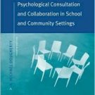 Psychological Consultation & Collaboration in School & Community Settings by Dougherty 0534575323