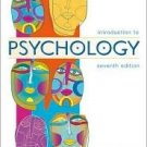 Introduction to Psychology 7th by Rod Plotnik 0534589340