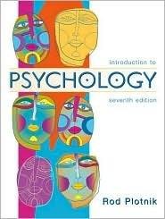 Introduction to Psychology 7th by Rod Plotnik 0534589340