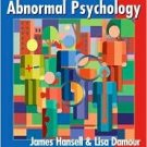 Abnormal Psychology by James H. Hansell 047138982X