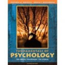 Fundamentals of Psychology 2nd by Robin S. Rosenberg 0205415059
