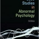Case Studies in Abnormal Psychology 7th by Thomas F. Oltmanns 0471731129