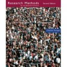 Research Methods for the Behavioral Sciences 2nd by Charles Stangor 0618312870