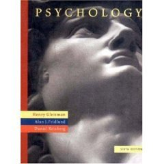 Psychology 6th by Alan J. Fridlund 0393977676