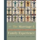 The Marriage and Family Experience 9th by Bryan Strong 0534609309