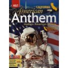 American Anthem: Modern American History California Edition by Edward L. Ayers 0030432995