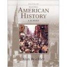 American History: A Survey, 11th Volume 2 by Alan Brinkley 007293672X
