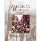 American History: A Survey, 11th Volume 2 by Alan Brinkley 0072490535