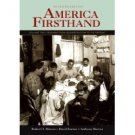 America Firsthand 7th by Anthony Marcus 0312446721