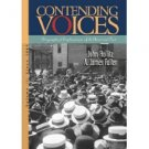 Contending Voices, Volume 2 by Hollitz 0395980690